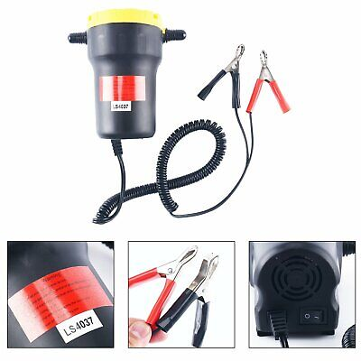 12V 5A DC Motor Fuel Oil Diesel Extractor Scavenge Suction Transfer Pump W/ Hose