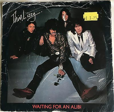 "THIN LIZZY - WAITING FOR AN ALIBI  b/w  WITH LOVE  (1979)  7"" vinyl single"