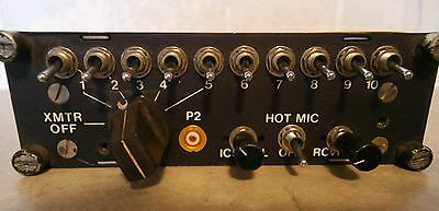 Agusta Helicopter Audio Panel