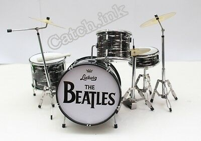 Ringo Starr The Beatles Drum Set Kit Miniature For Display Only