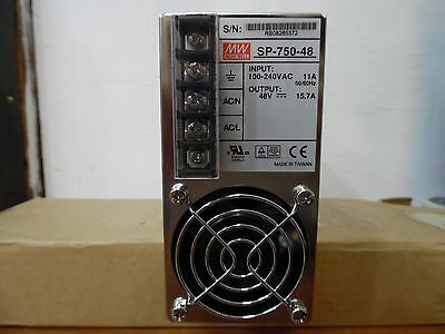 SP-750-48 MW Switching Power Supplies 48V 15.7A 750W Active PFC Function