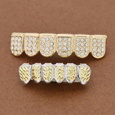 Diamonds Out Hip Hop Teeth Punk Dental Grills Teeth Decor Body Jewelry Party