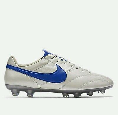 The Nike Premier SE, Size 8.5 & 10 Mens Football Boots White Blue New