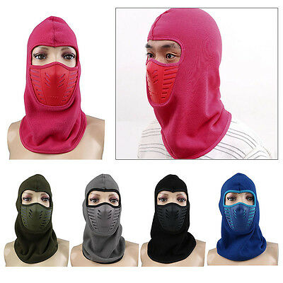 Warm Outdoor Unisex Balaclava Motorcycle Ski Windproof Full Face Mask Hat Winter