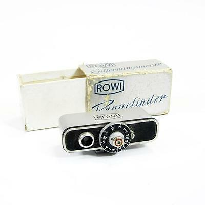 ROWI - Stereoscopic Rangefinder - Shoe Mount - In Original Box - Made In Germany