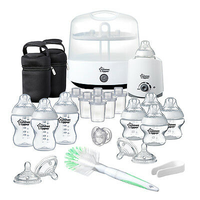 Tommee Tippee Closer to Nature Complete Feeding Set in White