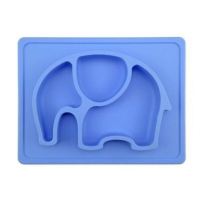 """Mini Silicone Kids Placemat,Baby Feeding Mat,Silivo 10""""x7.7""""x1"""" One Piece Fits"""