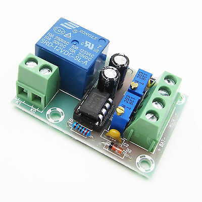 Smart Battery Charger Power Relay Control Board DC12V Automatic Control Board