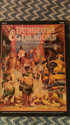 Dungeons and Dragons AC11 The Book of Wondrous Inventions