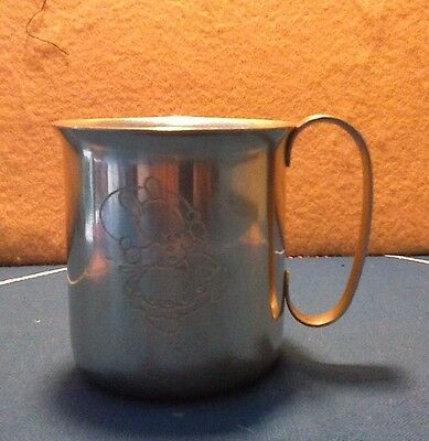 Mabel Lucie Attwell Nursery Stainless Steel Cup 1960