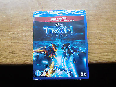 Tron - Legacy (3D Blu-ray, 2012, 2-Disc Set) NEW AND SEALED