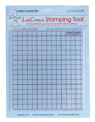 Leane creatief  stamping tool grid press for clear stamps 55.3226