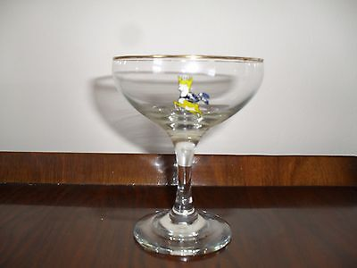 Collectable  Vintage 1960's 'Babycham'  Glass