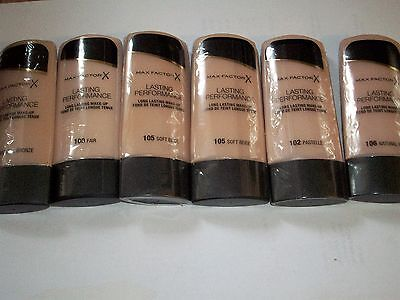 max factor lasting performance foundation choose your shade