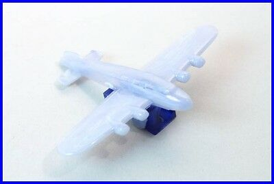 Bleistift Anspitzer als Flugzeug / penny toy jet air plane blue pencil sharpener