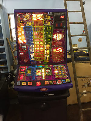 X Rated, Red Gaming Fruit Machine 10p Play, £5 Jackpot (Delivery £55)