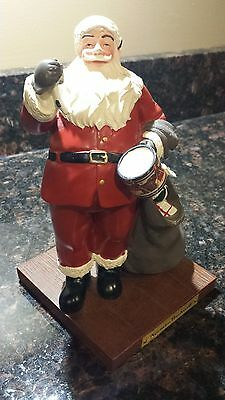 Norman Rockwell figurine Santa Clause with sack of toys