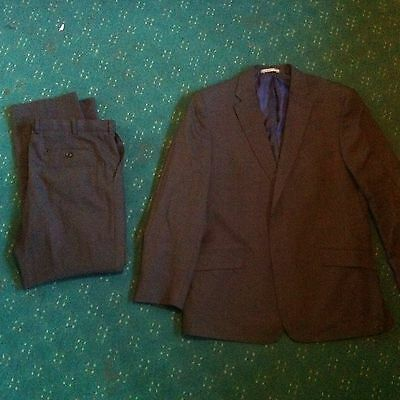 Men's Marks And Spencer's Performance Suit Trousers W36 L31 Jacket Chest 44""