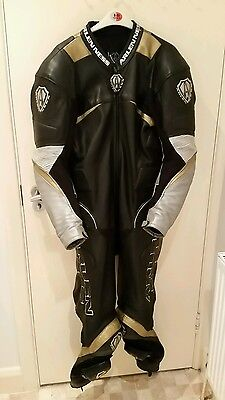 Arlen Ness Perforated Racing Leather Suit XL Size 44 Chest