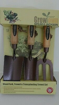 new Spear & Jackson boxed Trowel set