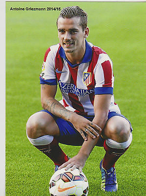 Football  Cp Antoine Griezmann  2014/15 Atletico Madrid