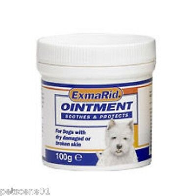 EXMARID OINTMENT SOOTHES & PROTECTS 100 G FOR DOGS supple skin minor wounds