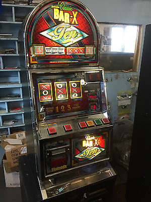 Classic Bar X Ten, Electroin Fruit Machine 10p Play, £5 Jackpot (Delivery £55)