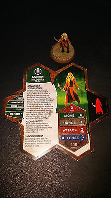 Heroscape Sharwin Wildborn- Champions of the Forgotten Realms 19/20