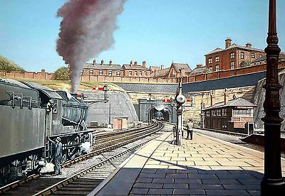 Nottingham Victoria Station North Tunnel Signed Print The Parnham Gallery