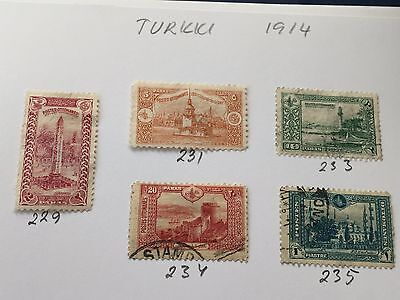 Turkey collection of stamps all periods  direct from estate in Finland