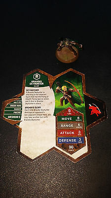 Heroscape Brandis Skyhunter - Champions of the Forgotten Realms 18/20