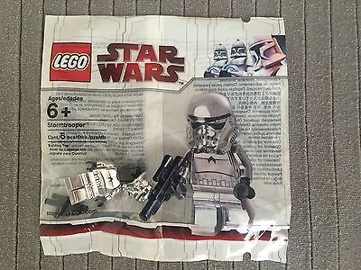LEGO STAR WARS POLYBAG Stormtrooper  Chrome Neuf