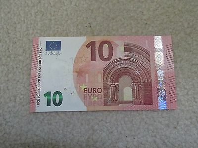 European Union €10 Euros Uncirculated Paper Note Currency $10 EUR