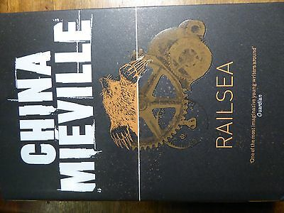 Railsea by China Mieville signed 1st Edition HardBack 2012 ISBN:9780230765108