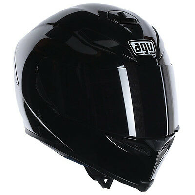 AGV K5 Full Face Motorcycle Motorbike Helmet - Gloss Black