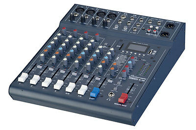 Studiomaster Club XS-8 8channel mixing desk with built in effects