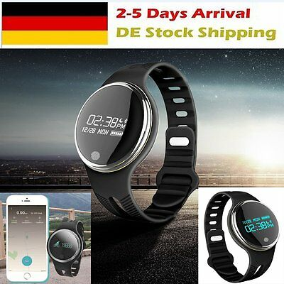 E07 Bluetooth Smart Sport Watch Tracker Wristband Fitness Pedome For IOS Android