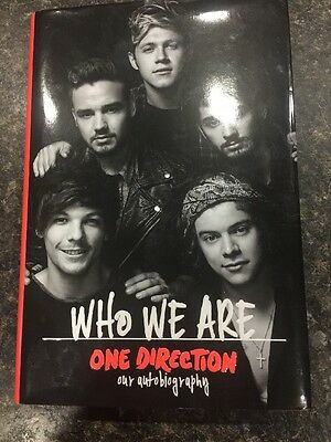 One Direction autobiography Book