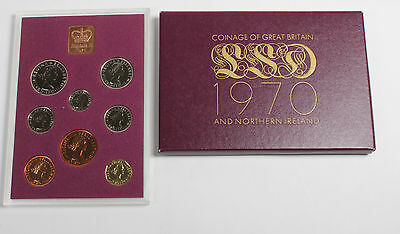 The Coinage of Great Britain and Northern Ireland Proof set 1970 LSD