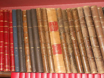 Revue L'illustration  Lot De 43 Vol. En Reliure Editeur 1884 A 1930