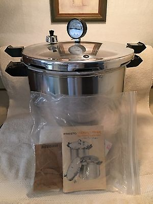 Vintage 1983 Deluxe PRESTO Pressure Cooker Canning Supplies # 01780