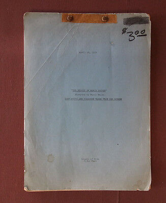 1956 The Revolt of Mamie Stover Rare Continuity & Dialogue Script Jane Russell