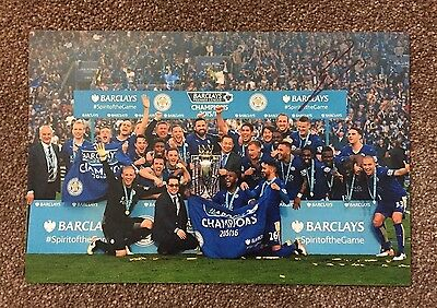 "Shinji Okazaki Hand Signed 12x8"" Photo Leicester City Memorabilia Autograph COA"