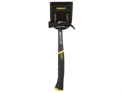 Stanley Tools STA277HAMAV FatMax Antivibe All Steel Curved Claw Hammer & Holder