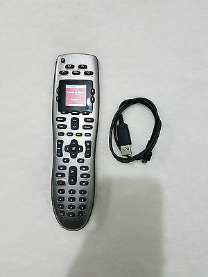 Logitech Harmony 650 Remote Control Universal Smart All In One Used Rested Work