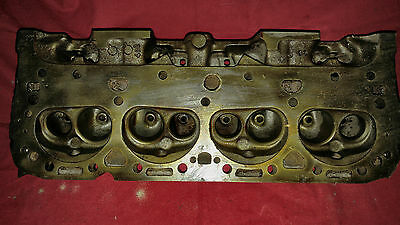 3890462 Chevy Double Hump Engine Cylinder Head Date code H 116