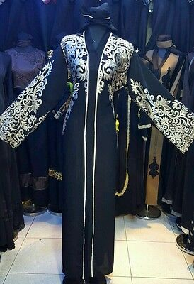 Women open front  abaya.japanese Neda/linen  .sept 2016 models Sizes 54.56.58