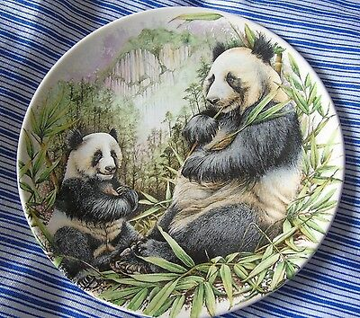 "Poole Pottery 'The Giant Panda' 6"" Decorative Display Plate"