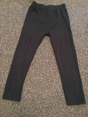 TU Girls Black Leggings Age 3-4 Years