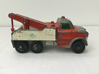 Vintage Matchbox Series No 71 Ford Heavy Wreck Truck